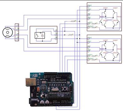 Arduino circuit design