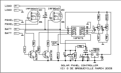 В схеме море ошибок, вот буду копировать эту. стоит полевик и делитель измерения напряжения на аккумуляторе.