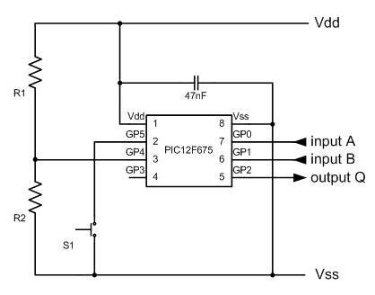 Arduino Voltmeter Circuit Diagram
